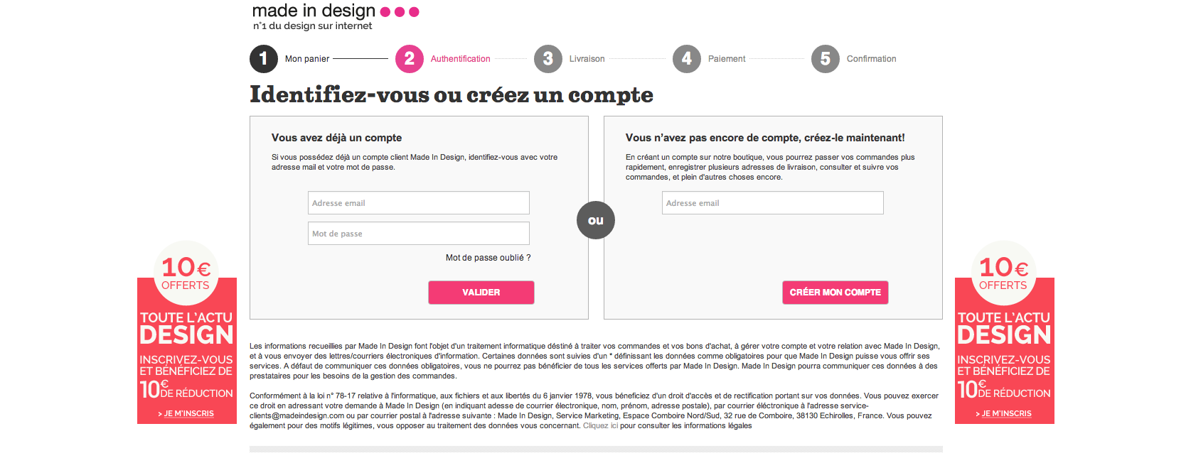ergo-note-revue-ergonomique-du-site-made-in-design-com-checkout