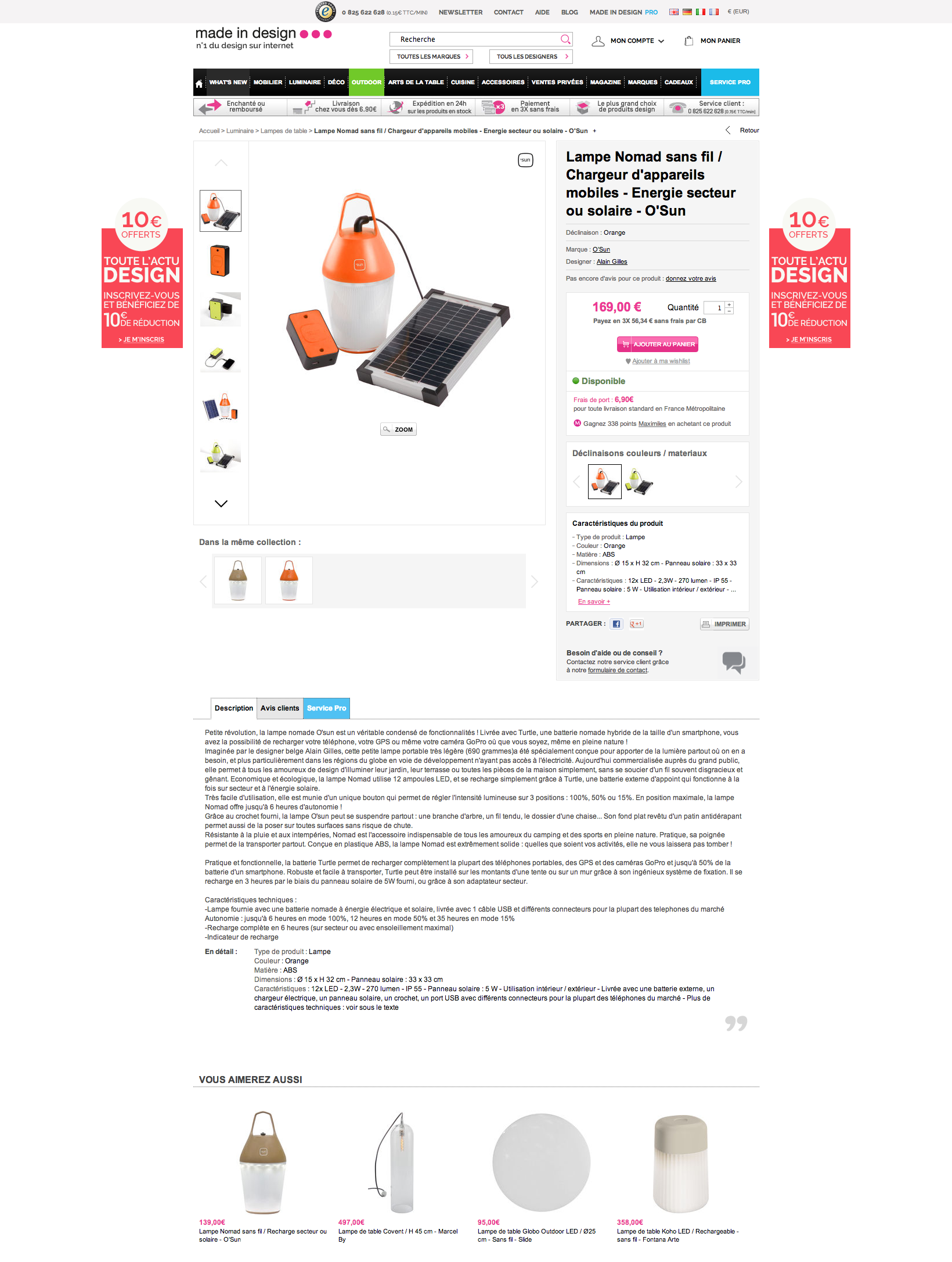 ergo-note-revue-ergonomique-du-site-made-in-design-com-page-produit